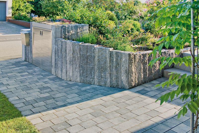 natursteinmauern gartenbau steinbauer. Black Bedroom Furniture Sets. Home Design Ideas